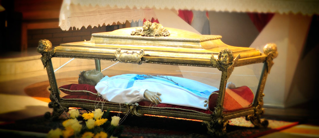 The Reliquary of St. Maria Goretti